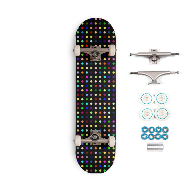 Sakteboard Black #8 Accessories Complete - Basic Skateboard by Robert Hirst Artist Shop