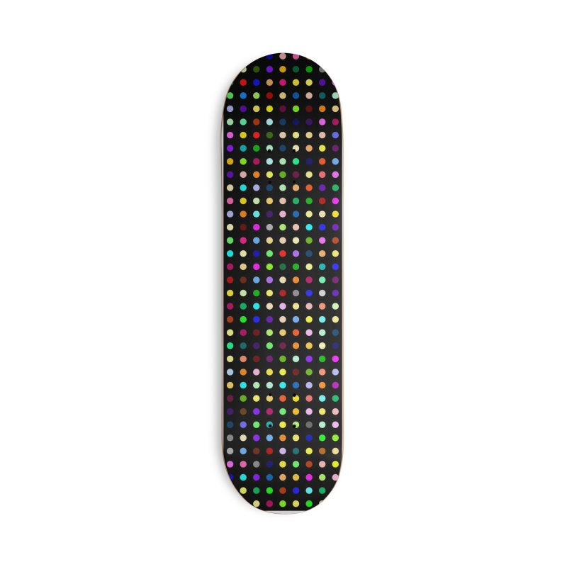 Sakteboard Black #8 Accessories Deck Only Skateboard by Robert Hirst Artist Shop