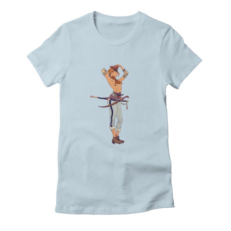 Batter Girl Women's T-Shirt by Robert Sammelin