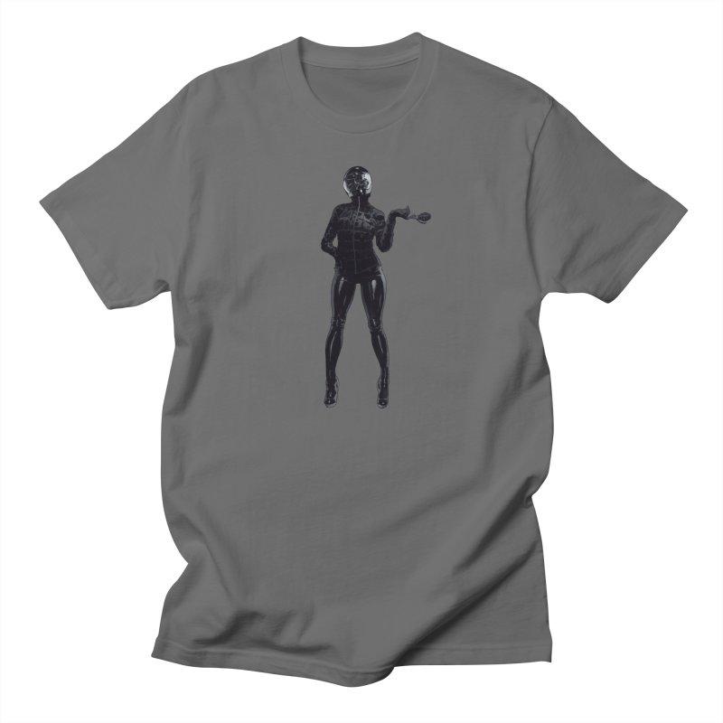 Blackest Biker Men's T-Shirt by Robert Sammelin