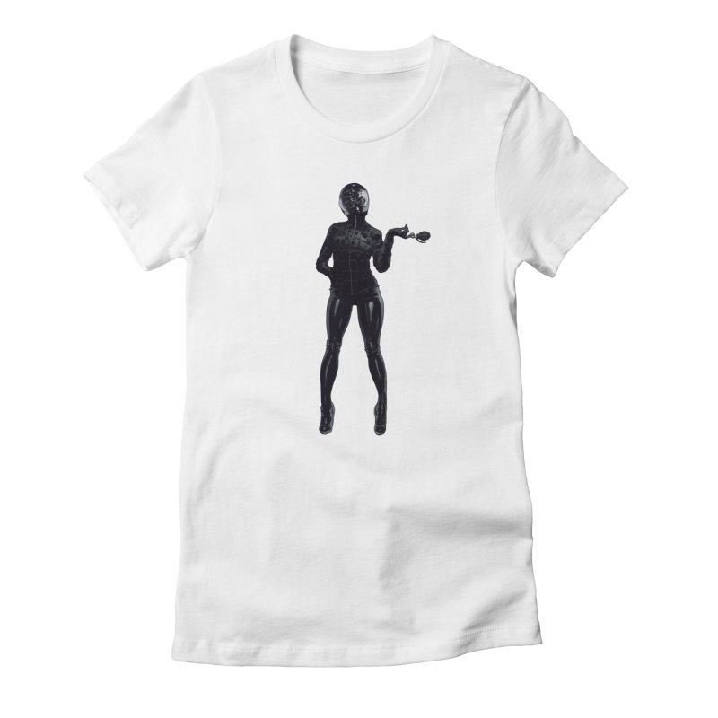 Blackest Biker Women's T-Shirt by Robert Sammelin