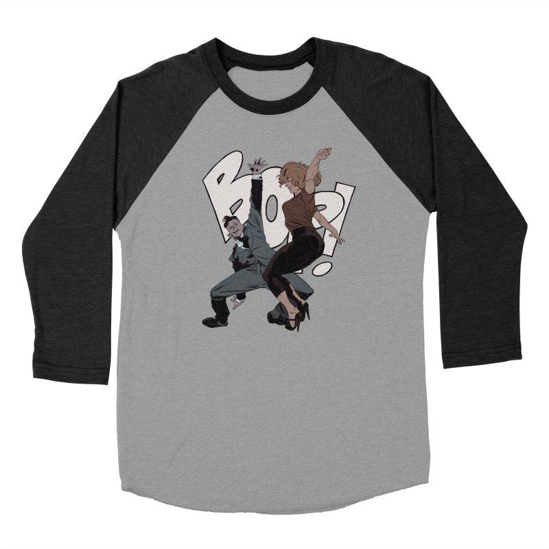 Bop Men's Baseball Triblend Longsleeve T-Shirt by Robert Sammelin