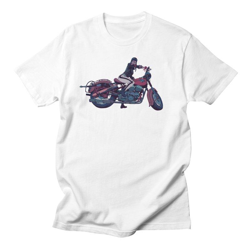 Cafe Racer Men's T-Shirt by Robert Sammelin