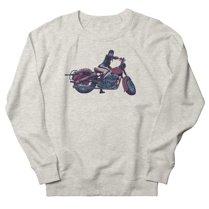 Cafe Racer Women's French Terry Sweatshirt by Robert Sammelin