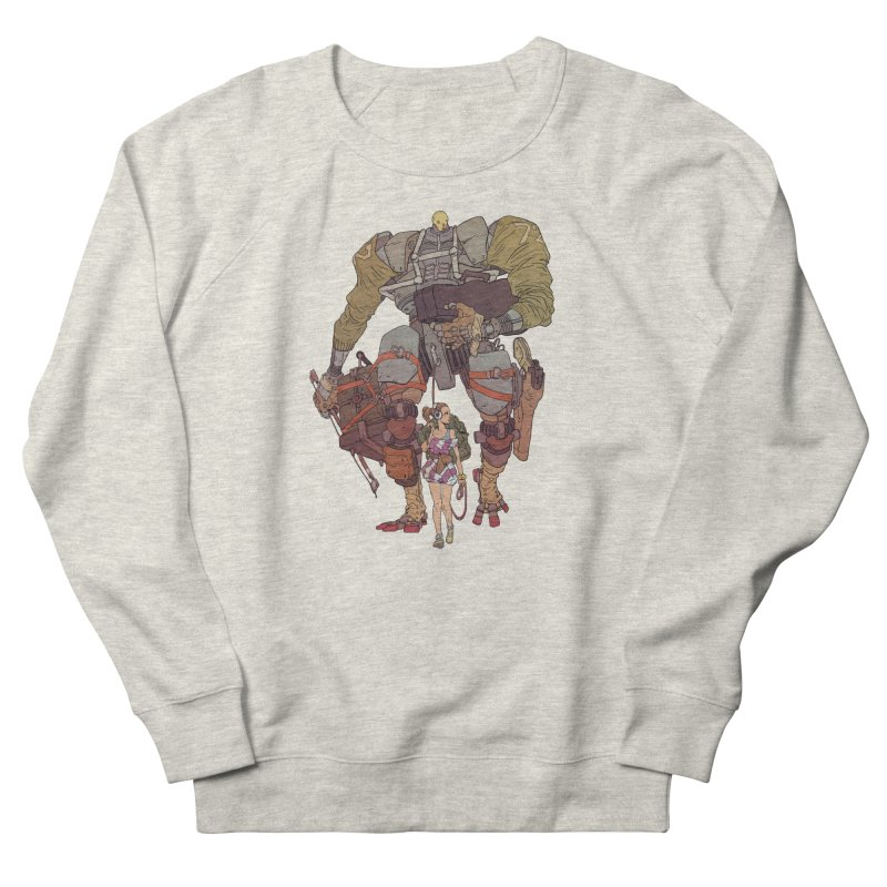 Fick N Fiddler Women's French Terry Sweatshirt by Robert Sammelin