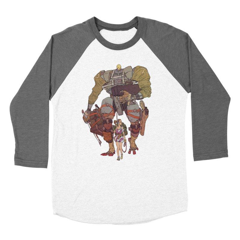 Fick N Fiddler Men's Baseball Triblend Longsleeve T-Shirt by Robert Sammelin