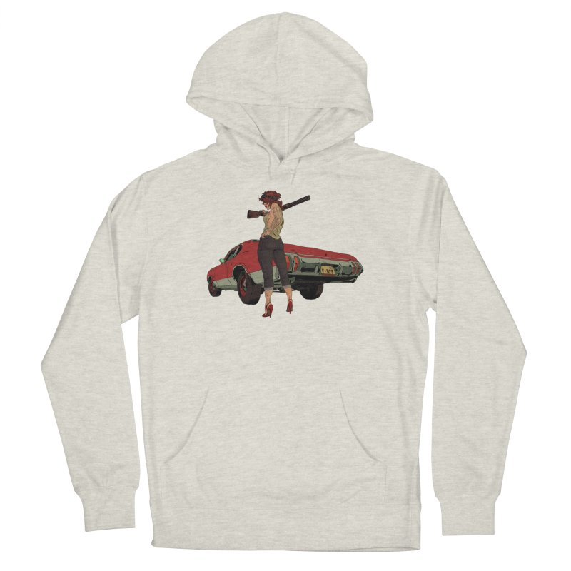 Hick Women's French Terry Pullover Hoody by Robert Sammelin