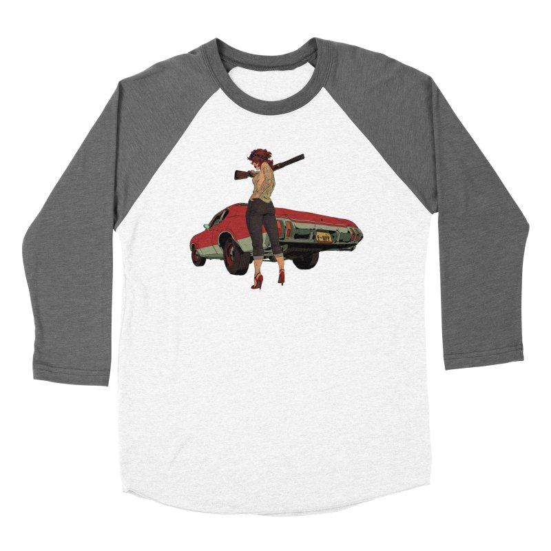 Hick Men's Baseball Triblend Longsleeve T-Shirt by Robert Sammelin