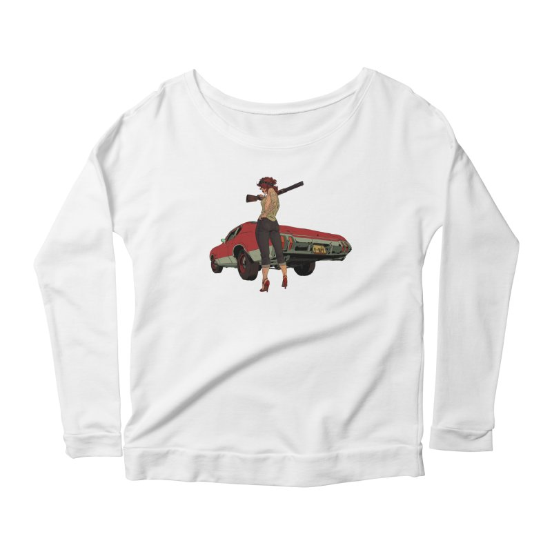 Hick Women's Scoop Neck Longsleeve T-Shirt by Robert Sammelin