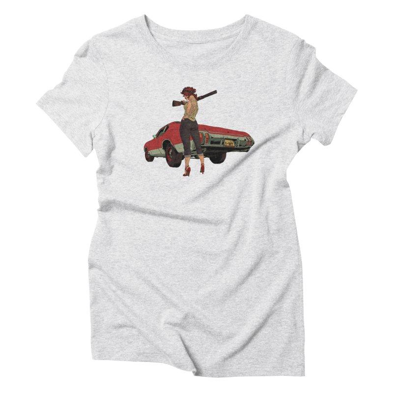 Hick Women's Triblend T-Shirt by Robert Sammelin