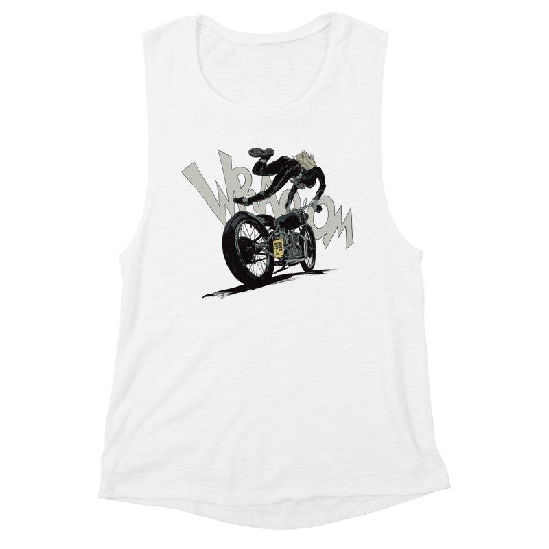 Motorgirl Women's Tank by Robert Sammelin