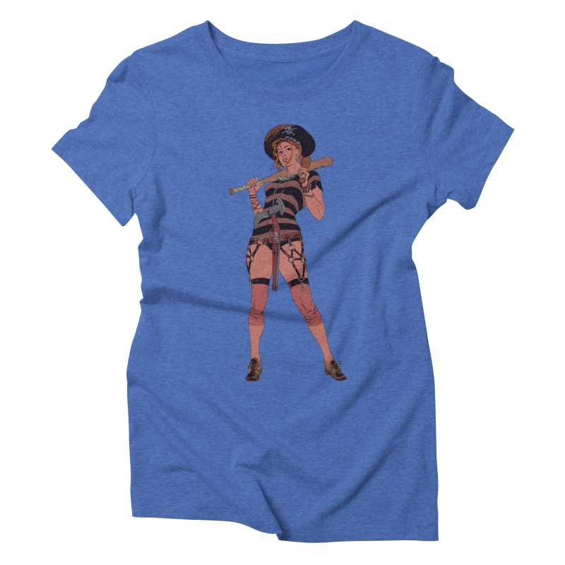 Pirate Jenny Women's Triblend T-Shirt by Robert Sammelin