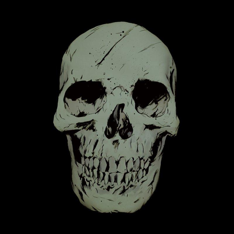 Skull Women's V-Neck by Robert Sammelin