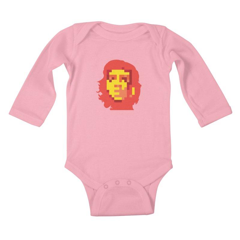 Viva La Resolution Kids Baby Longsleeve Bodysuit by robikucluk's Artist Shop