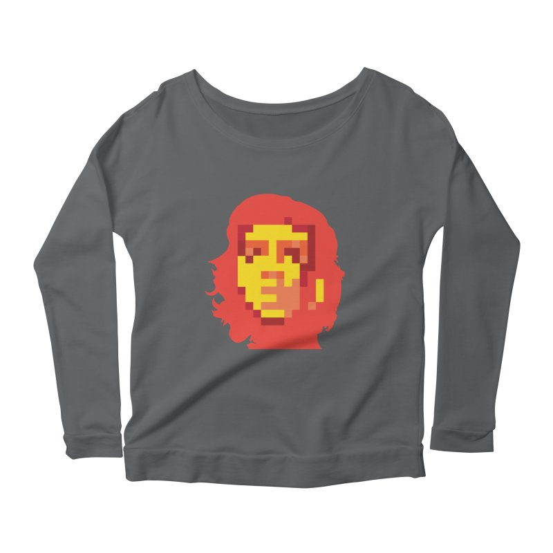 Viva La Resolution Women's Longsleeve Scoopneck  by robikucluk's Artist Shop