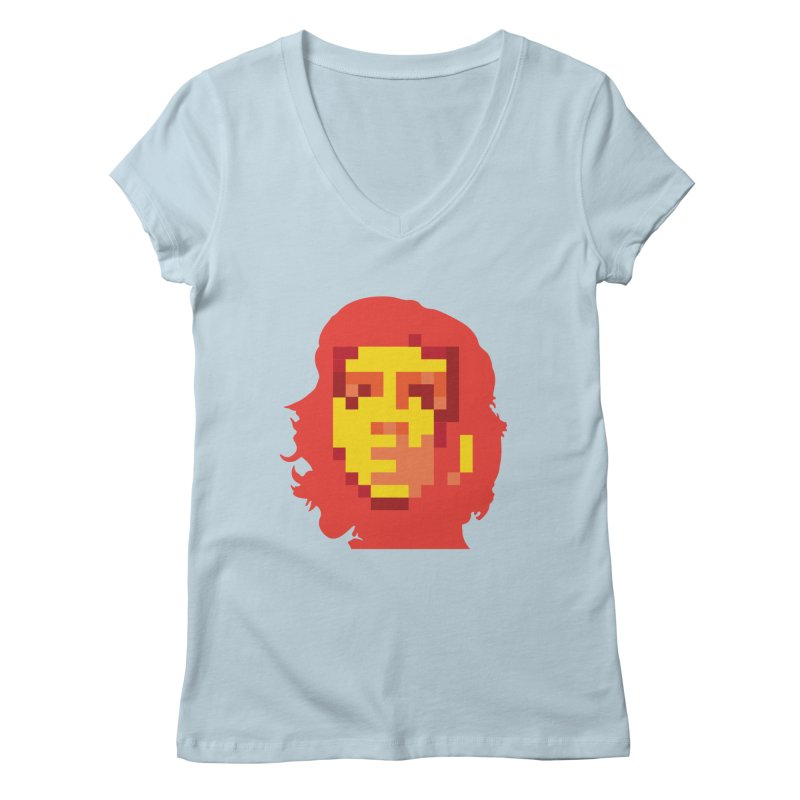 Viva La Resolution Women's V-Neck by robikucluk's Artist Shop