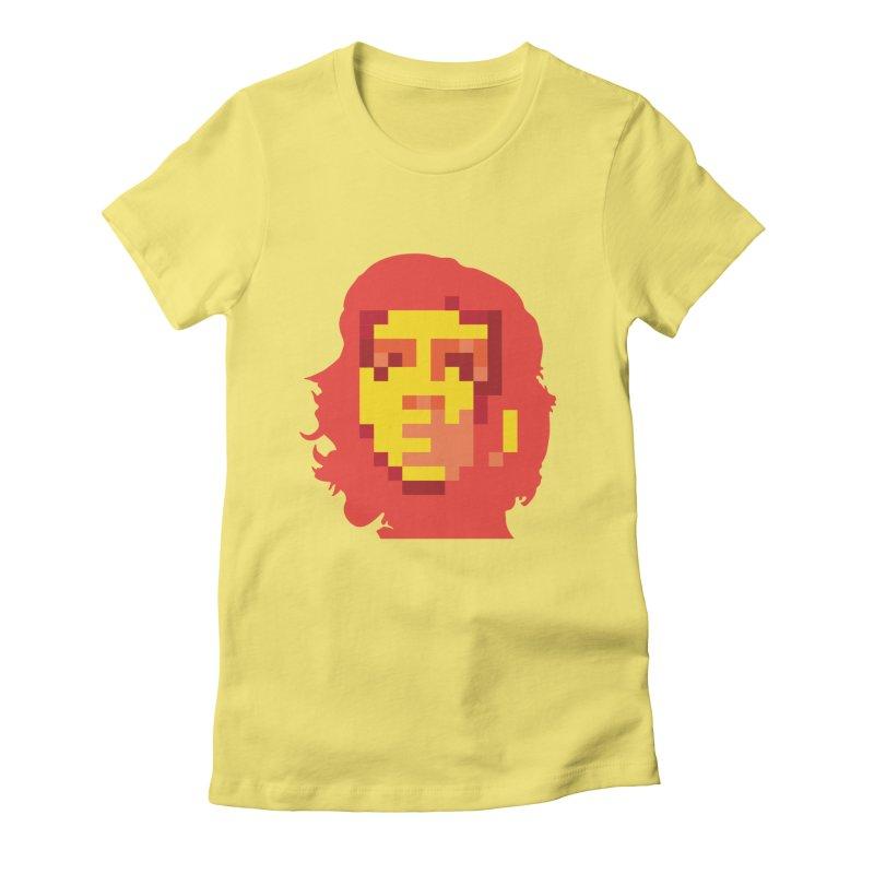 Viva La Resolution Women's Fitted T-Shirt by robikucluk's Artist Shop