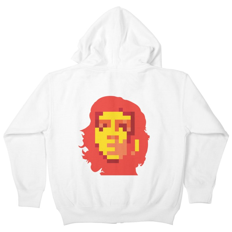 Viva La Resolution Kids Zip-Up Hoody by robikucluk's Artist Shop