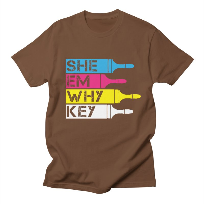 CMYK Men's T-shirt by robikucluk's Artist Shop
