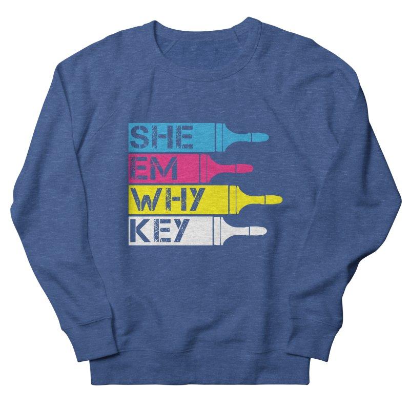 CMYK Women's Sweatshirt by robikucluk's Artist Shop
