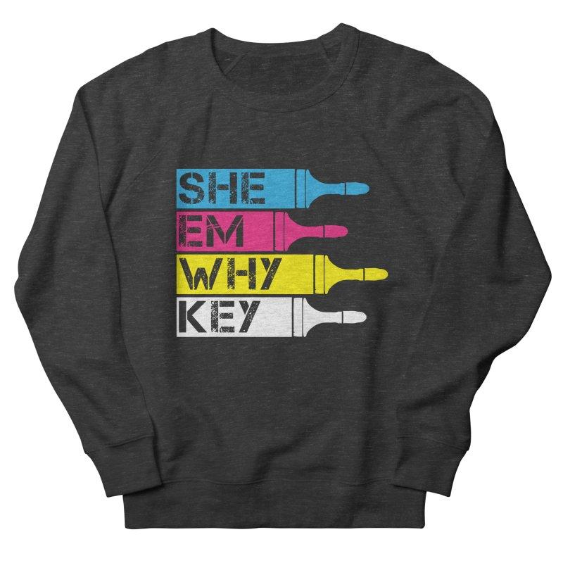 CMYK Men's Sweatshirt by robikucluk's Artist Shop