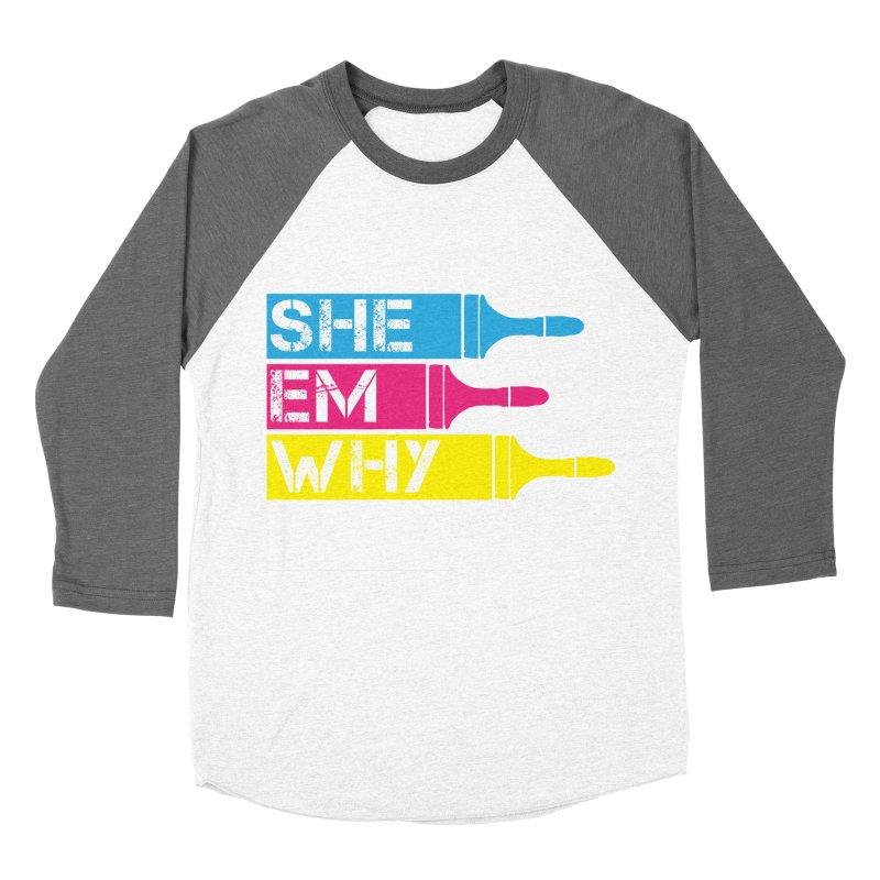 CMYK Women's Baseball Triblend T-Shirt by robikucluk's Artist Shop
