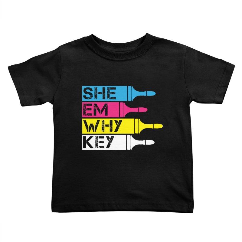 CMYK Kids Toddler T-Shirt by robikucluk's Artist Shop