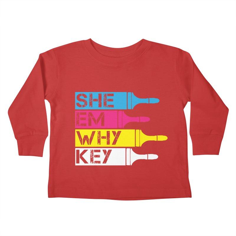 CMYK Kids Toddler Longsleeve T-Shirt by robikucluk's Artist Shop