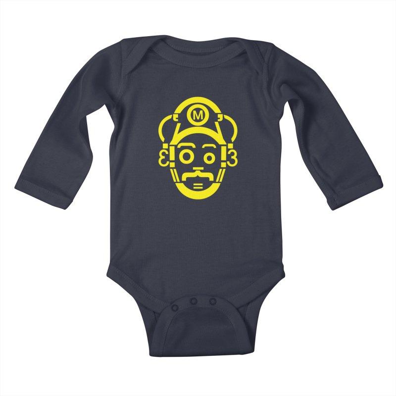 Mariography Kids Baby Longsleeve Bodysuit by robikucluk's Artist Shop