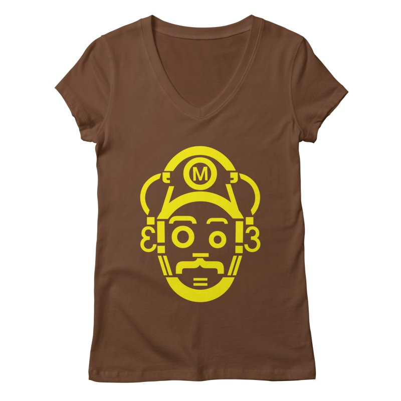 Mariography Women's V-Neck by robikucluk's Artist Shop