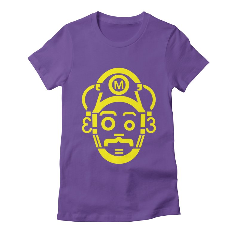 Mariography Women's Fitted T-Shirt by robikucluk's Artist Shop