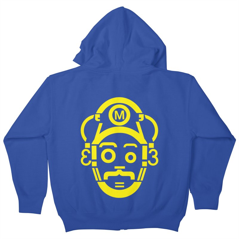 Mariography Kids Zip-Up Hoody by robikucluk's Artist Shop
