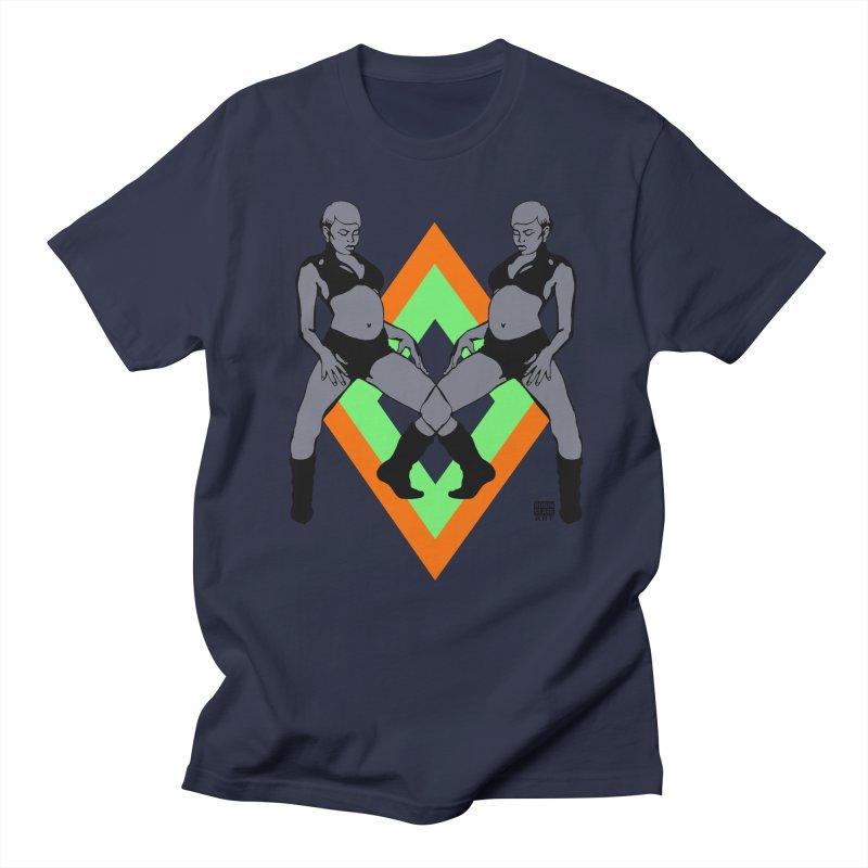 Butterfly Twins Orange Men's T-shirt by Robin Clare Art T's