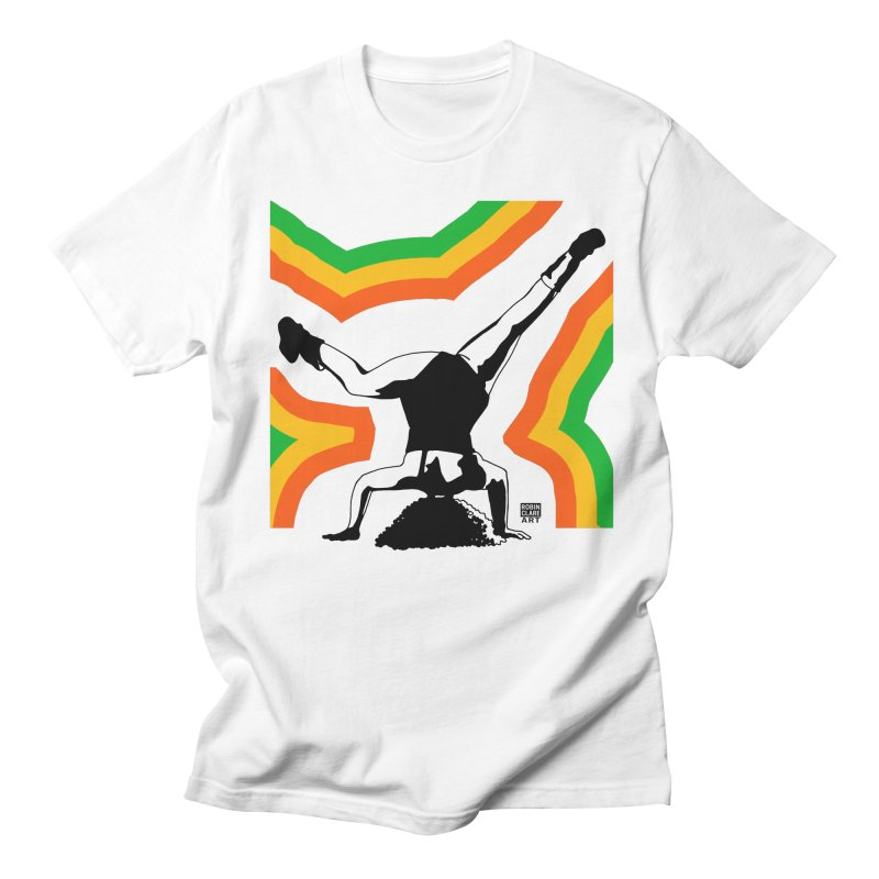 Headtop Rainbow Men's T-shirt by Robin Clare Art T's