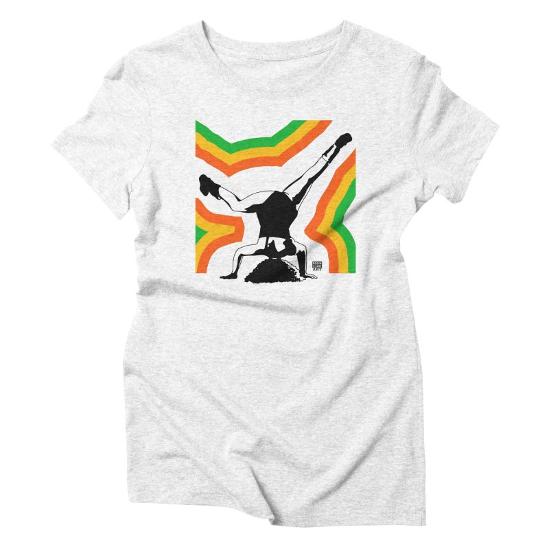 Headtop Rainbow Women's Triblend T-shirt by Robin Clare Art T's