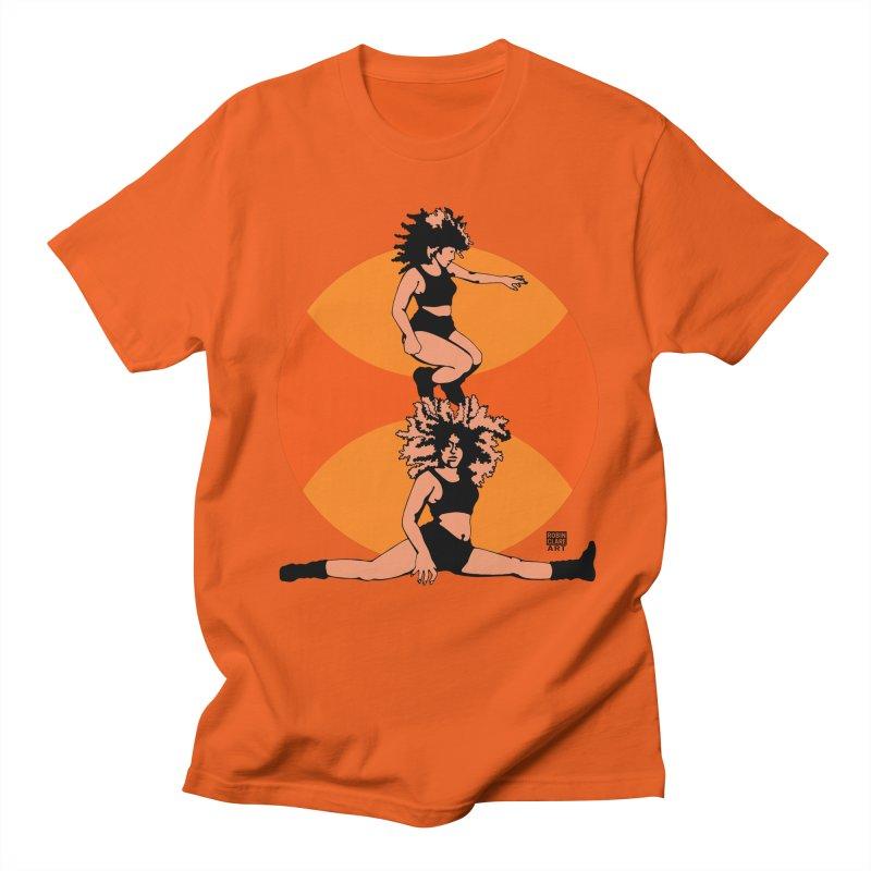 Split Orange Men's T-shirt by Robin Clare Art T's