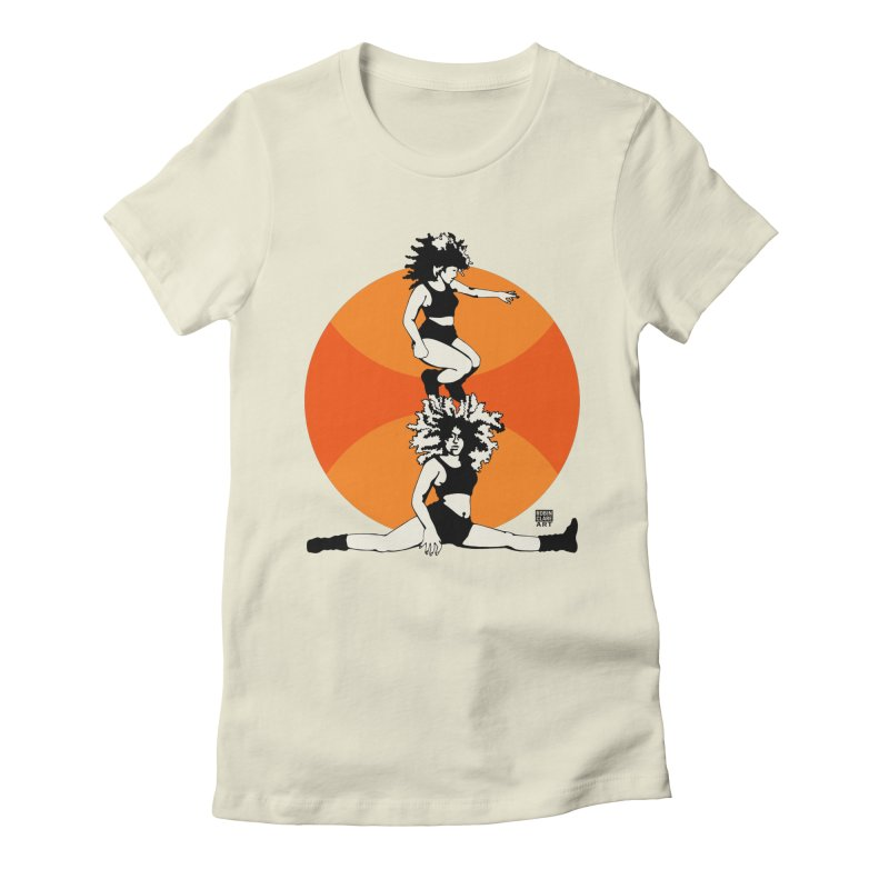 Split Orange   by Robin Clare Art T's