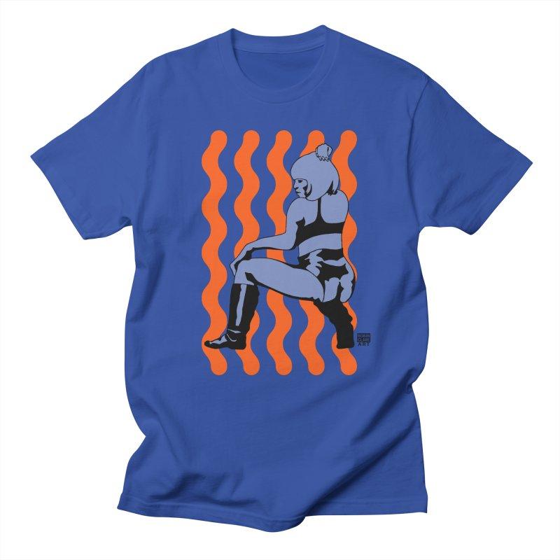 Wine Up Orange Men's T-shirt by Robin Clare Art T's