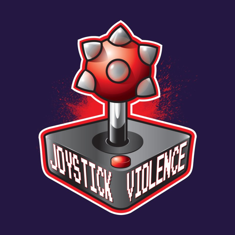 Joystick Violence by roboohno's Artist Shop