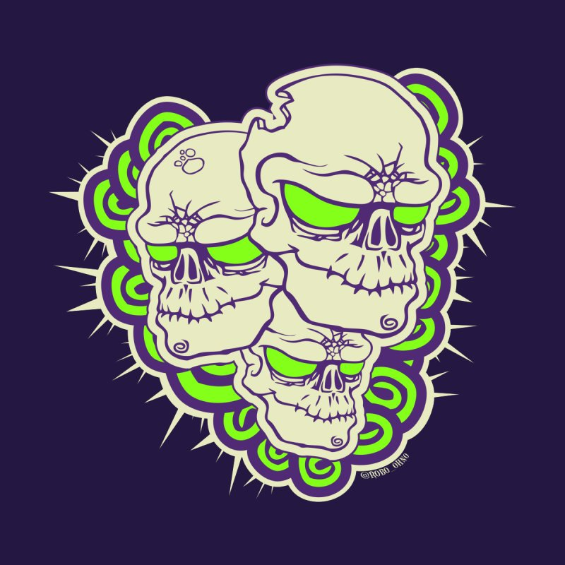 Zomb Skull Green by roboohno's Artist Shop