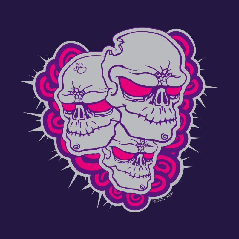 Zomb Skull Pink by roboohno's Artist Shop