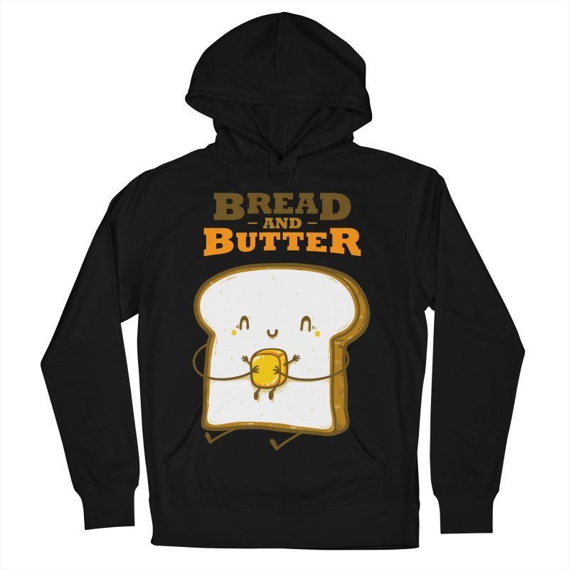 Bread and Butter Men's French Terry Pullover Hoody by roborat's Artist Shop
