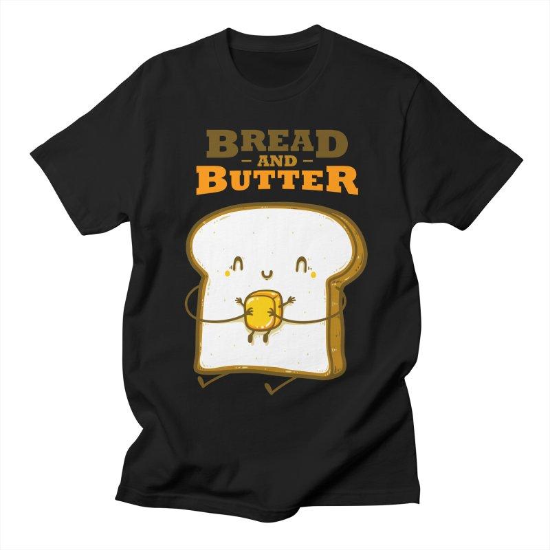 Bread and Butter Women's Regular Unisex T-Shirt by roborat's Artist Shop