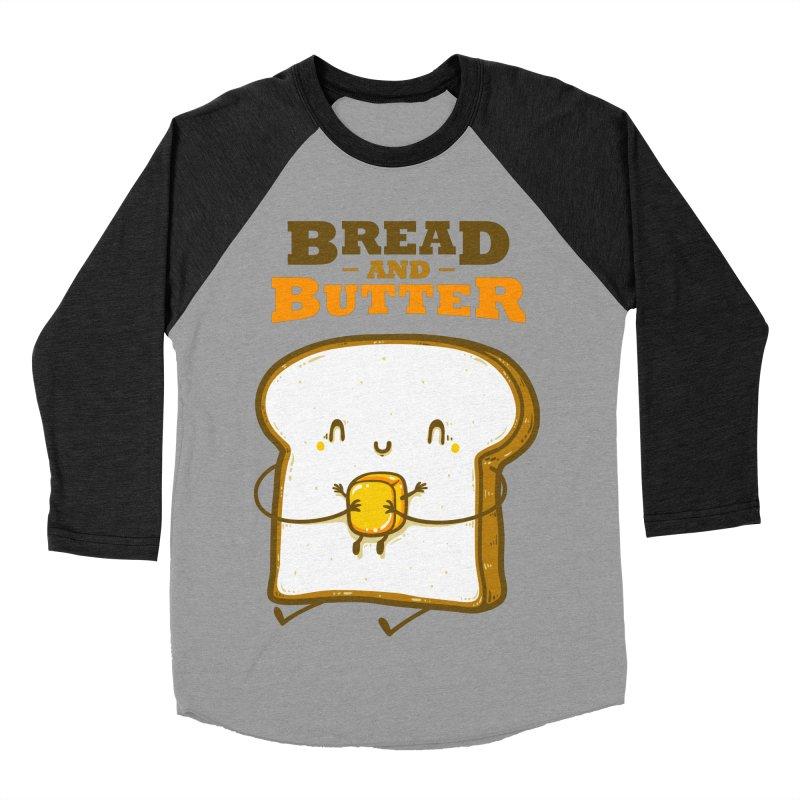 Bread and Butter Women's Baseball Triblend Longsleeve T-Shirt by roborat's Artist Shop