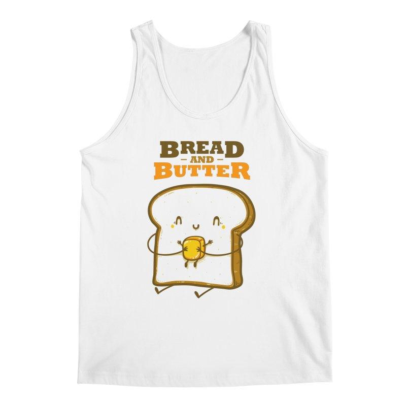 Bread and Butter Men's Regular Tank by roborat's Artist Shop