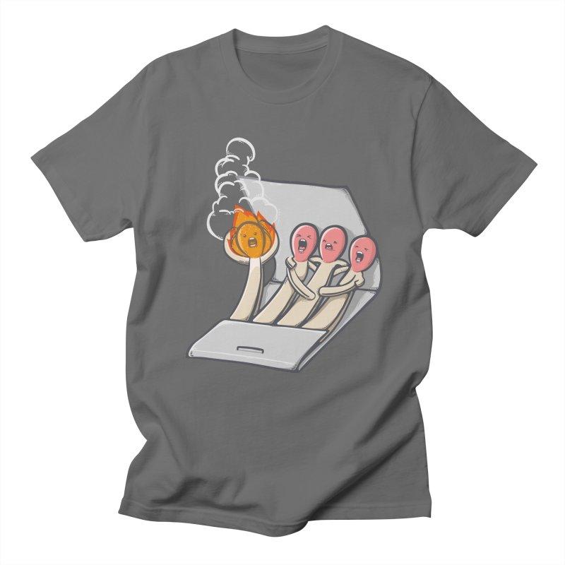Divided we stand Men's T-shirt by roborat's Artist Shop
