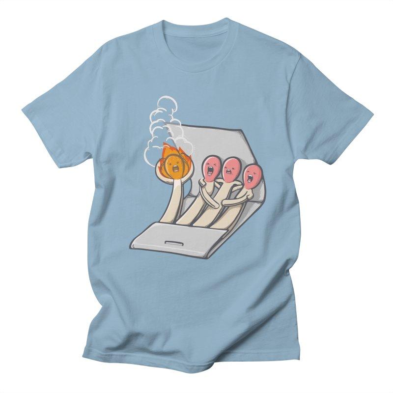 Divided we stand Men's Regular T-Shirt by roborat's Artist Shop