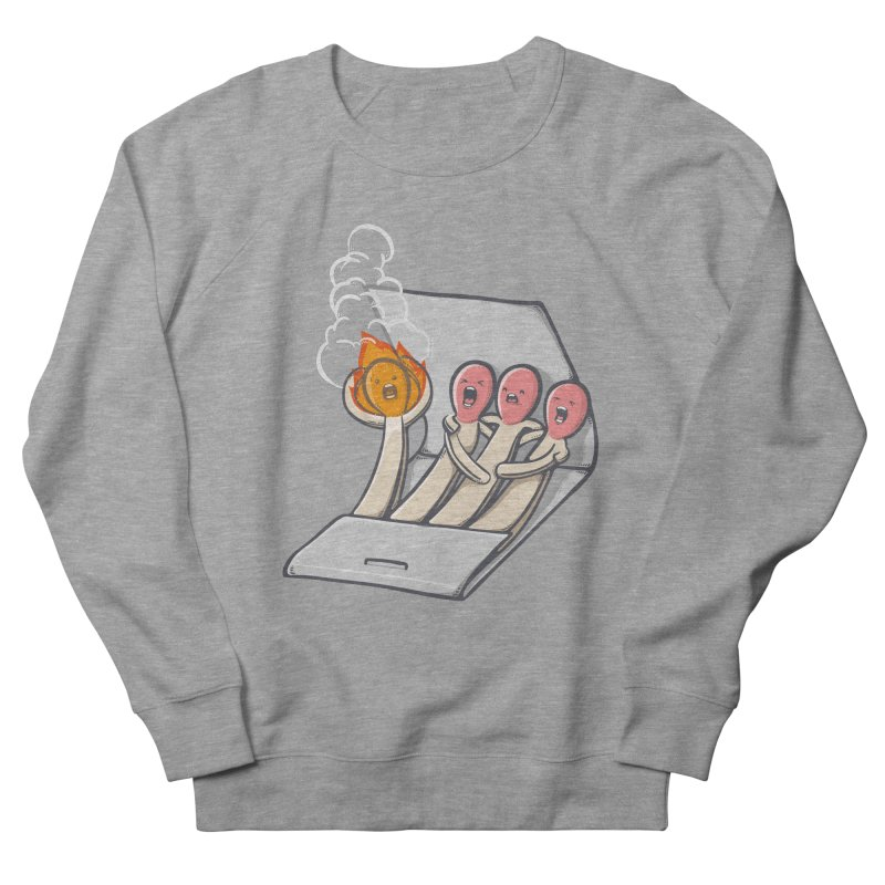 Divided we stand Men's French Terry Sweatshirt by roborat's Artist Shop