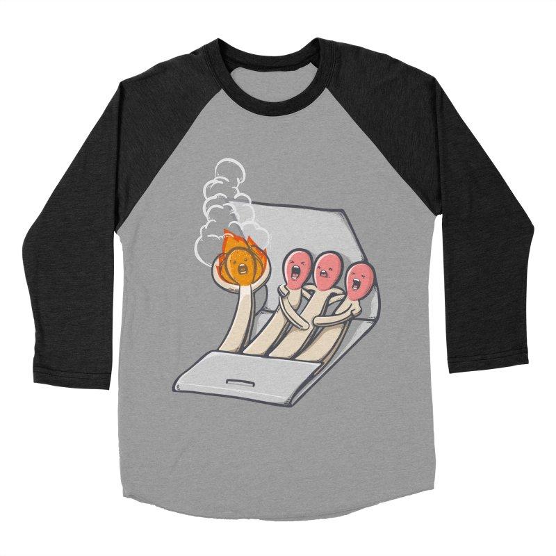 Divided we stand Men's Baseball Triblend Longsleeve T-Shirt by roborat's Artist Shop