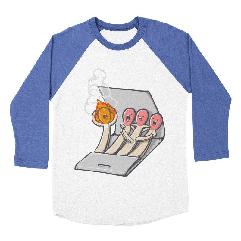 Divided we stand Men's Baseball Triblend T-Shirt by roborat's Artist Shop